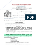 Calatorie Prin Cultura Rm Marin Mariana Didactic