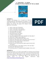 Think Teen 1st Grade Activity Leaflet