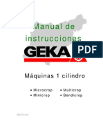 Manual Maquina Geka 1