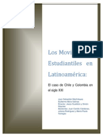 Los Moviientos Estudiantiles en América Latina