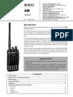 Ft-250r Service Manual