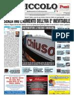 Il Piccolo Giornale di Cremona 21 settembre 2013