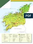 Map Province a Coruna