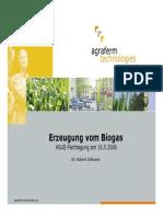 Erzeugung Vom Biogas
