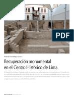 Museo de Sitio Bodega y Quadra Revista Proyecta