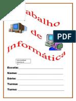 Informática_Capa de trabalho