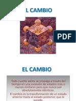 EL CAMBIO