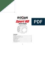 Câmera Intova manual - Portugues