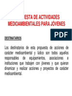 69_es-ES_Propuesta de Actividades Medioambientales Para JOVENES