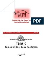 Tajwid - New - 4 Lessons