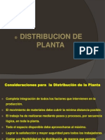 Distribucion de Planta II