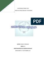 Act. 2 Ensayo Paradigma Positivista y Pospositivista
