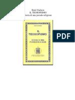 Il Teosofismo, Storia Di Una Pseudoreligione