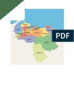 Estados de Venezuela Capitales