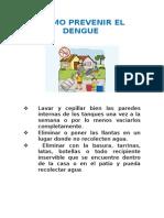 Como Prevenir El Dengue