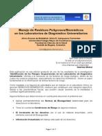 Manejo de Residuos Peligrosos - Biomedicos en Laboratorios de Diagnostico Universitarios