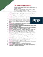 Componentes de Los Aceites Esenciales