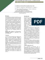 Criterios de Calidad en El Desarrollo de Aplicaciones Web