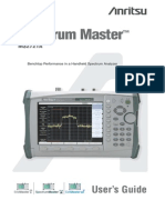 Spectrum Master 2721A User Guide