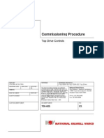 top driver Commissioning Procedure