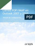 Correo POP IMAP Outlook 2007 2010