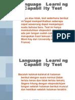 Tes Kemampuan Bahasa