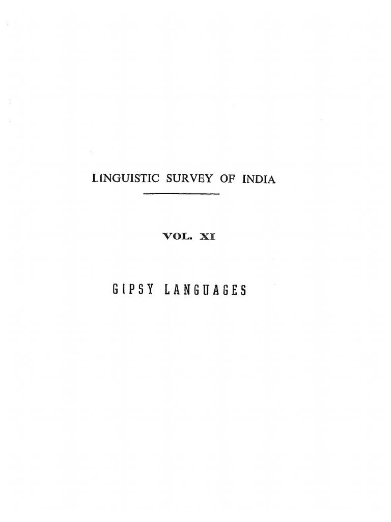 Griersonlsi11 Indo Aryangipsylanguages Romani People Languages Sigmatic Jug Kettle Skt 200