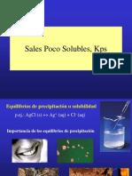 Sales Poco Solubles