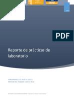 reporte de prácticas de laboratorio Julio Rodriguez
