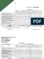 Planul de Invatamant Fizica Medicala Seria 2012 2013