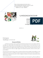 Proyecto-De-Aprendizaje LA VIOLENCIA ESCOLAR