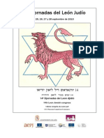 XIV Jornadas del León Judío. Septiembre 2013