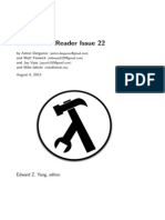 The Monad.Reader Issue 22