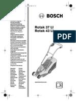 Rotak 37li Bosch Manuale