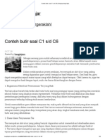 Contoh Butir Soal C1 S_d C6 _ Blognya Bang Fajar