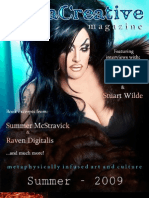 MetaCreative Magazine - Summer 2009