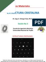 Estructura Cristalina III