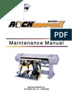 Maintenance Manual RockHopperII
