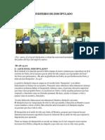 CAPACITACION DISCIPULADO 2013