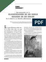 Aproximacion en La Clasificacion de Un Suelo Basada en Su Color en La Huerta La Semilla Namiquipa Chihuahua