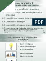 planiification stratégique