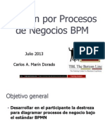 Manual Gestion Por Procesos de Negocio BPM