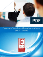 OCR PTLLS Lifelong Learning Sector Teaching and Training Course PTLLS Level 4 Preparing to Teach in the Lifelong