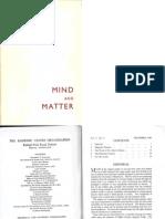Mind and Matter v6 2