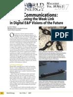 wilson satellite comms in ep article world energy valusek