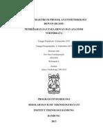Laporan Praktikum Proyek Anatomi Fisiologi Hewan