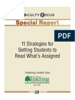 11 Strategies Getting Students to Read