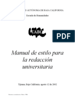 Manual de Estilo Version 2006