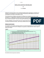 Population Growth in the Redlands - 21 Jun 09 (CRG)