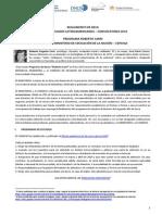 Reglamento Becas Roberto Carri 2014